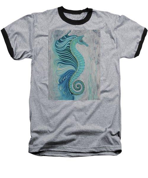 Sea Horse Visit Baseball T-Shirt