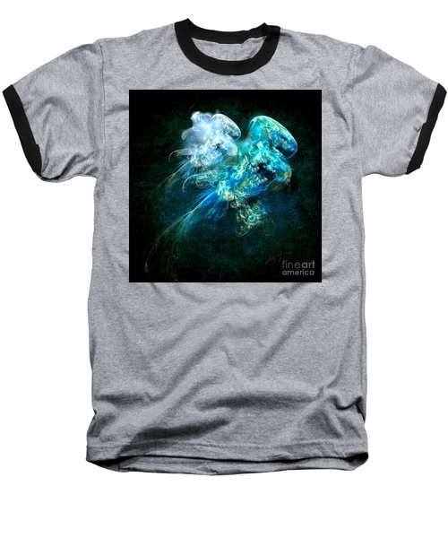 Sea Jellyfish Baseball T-Shirt