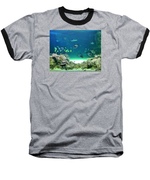 Baseball T-Shirt featuring the photograph Sea Life by Kay Gilley