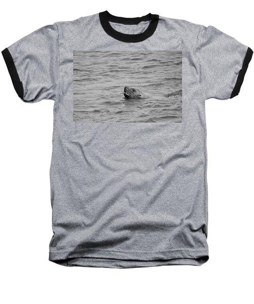 Sea Lion In The Wild Baseball T-Shirt