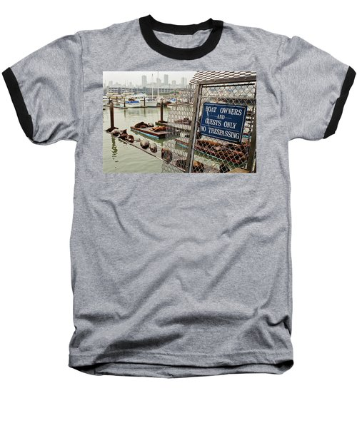 Sea Lions Take Over, San Francisco Baseball T-Shirt
