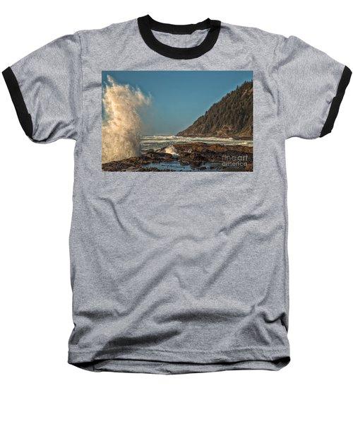 Sea Monster Baseball T-Shirt by Billie-Jo Miller