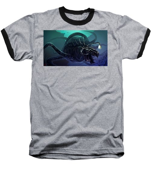Sea Monster  Baseball T-Shirt
