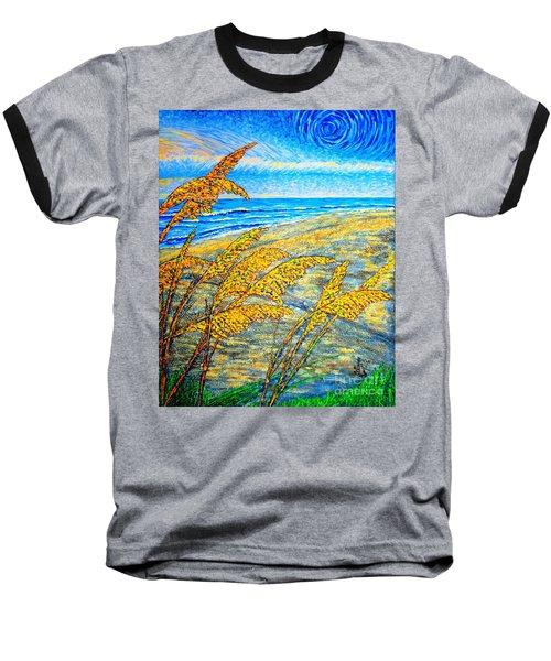 Sea Oats Dual#2 Baseball T-Shirt