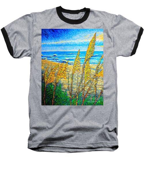 Sea Oat,dual #1 Baseball T-Shirt