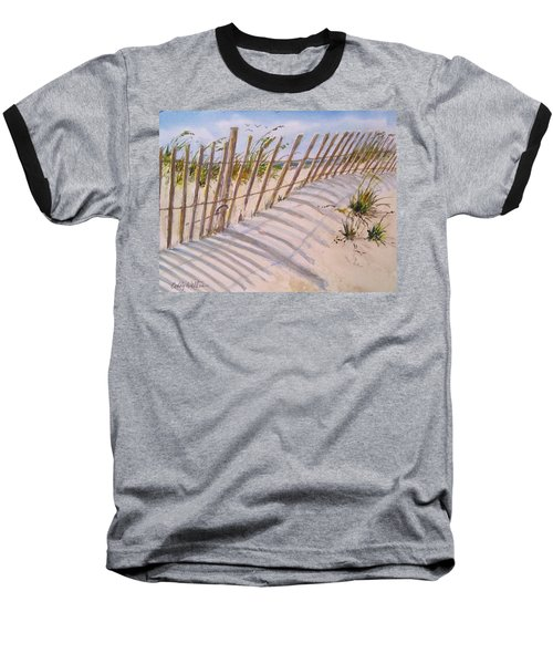 Sea Oats And Shadows Baseball T-Shirt