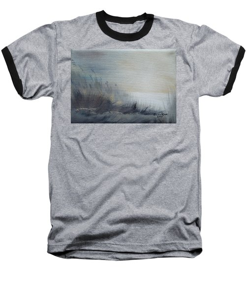 Baseball T-Shirt featuring the painting Sea Oats by Judith Rhue