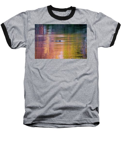 Baseball T-Shirt featuring the photograph Sea Of Color by Bill Wakeley