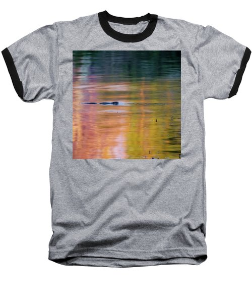 Baseball T-Shirt featuring the photograph Sea Of Color Square by Bill Wakeley