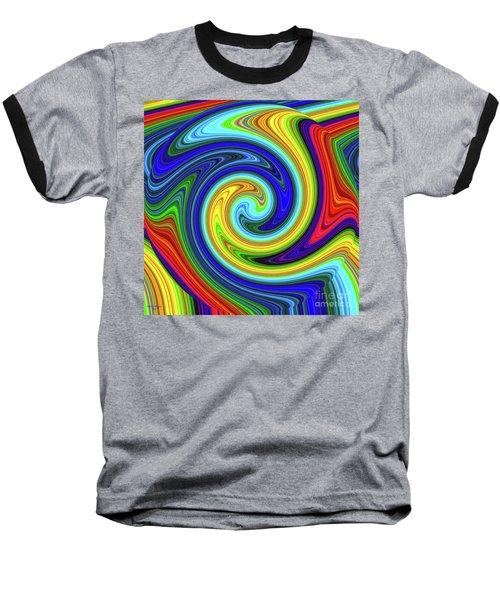 Sea Of Colors Baseball T-Shirt