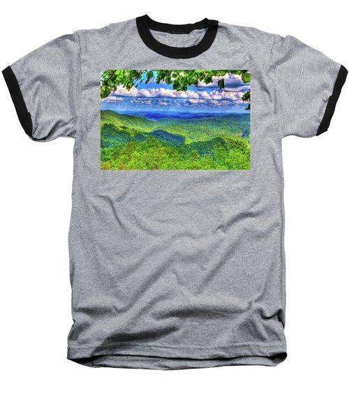 Sea Of Green Baseball T-Shirt