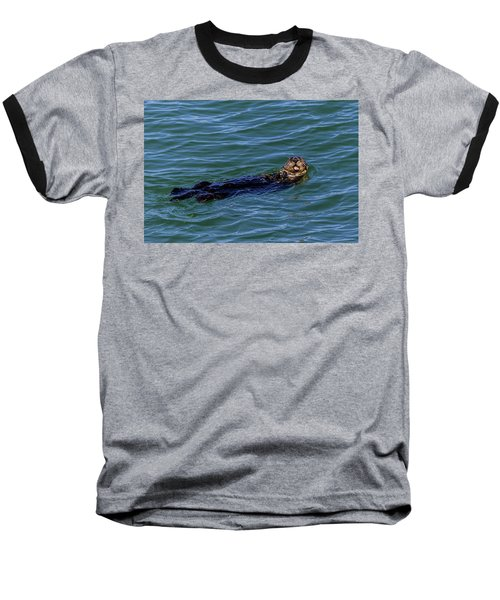 Sea Otter Baseball T-Shirt