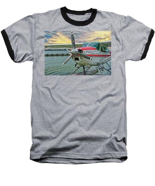 Sea Plane Baseball T-Shirt