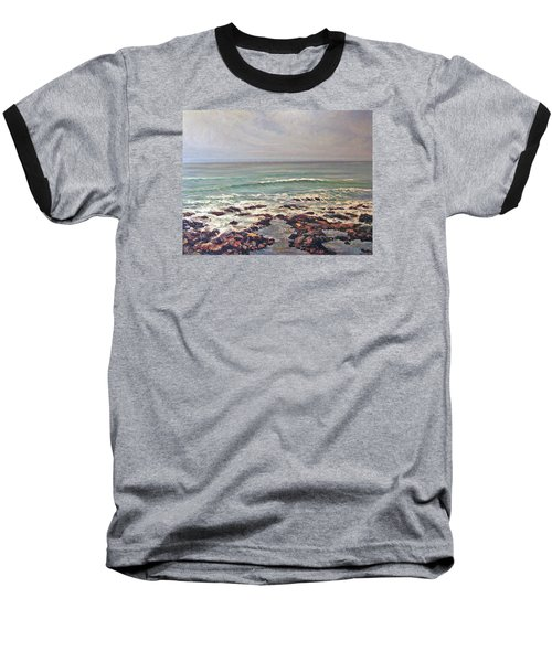 Sea Rocks Baseball T-Shirt