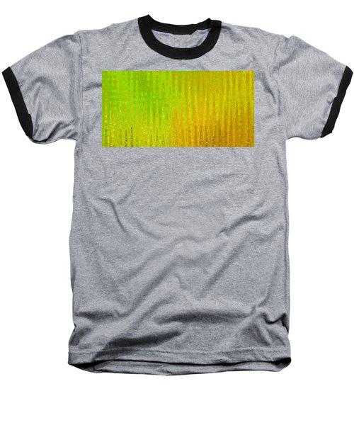 Sea Song Green And Gold Baseball T-Shirt