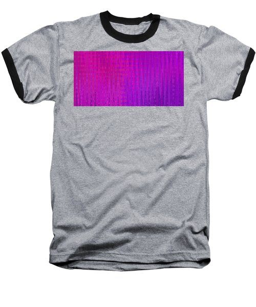 Sea Song Raspberry Sauce Baseball T-Shirt by Stephanie Grant