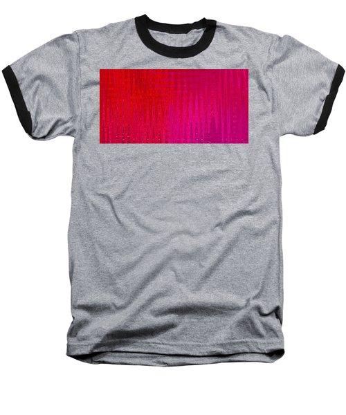 Sea Song Tropical Sunset Baseball T-Shirt by Stephanie Grant