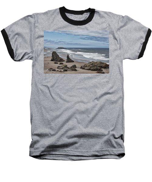 Sea Stacks And Surf Baseball T-Shirt