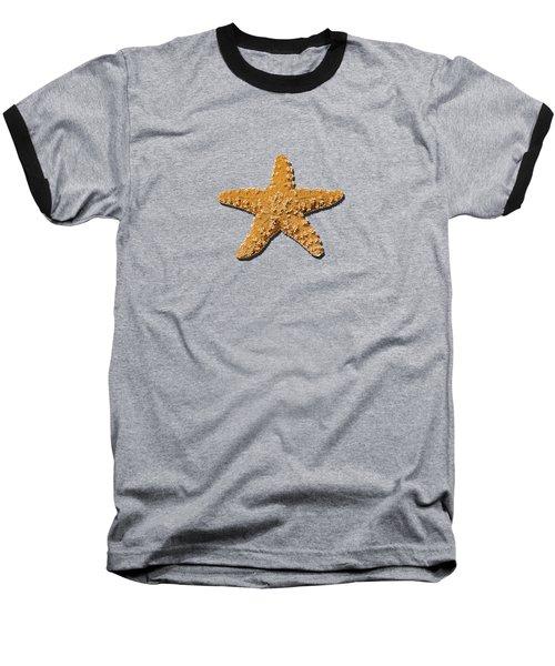 Sea Star Orange .png Baseball T-Shirt