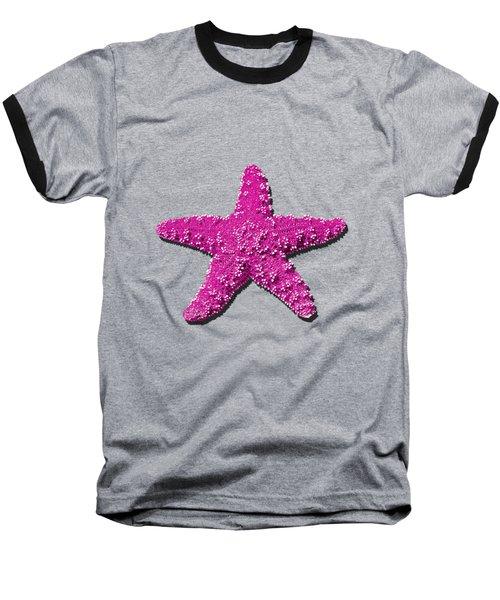 Sea Star Pink .png Baseball T-Shirt
