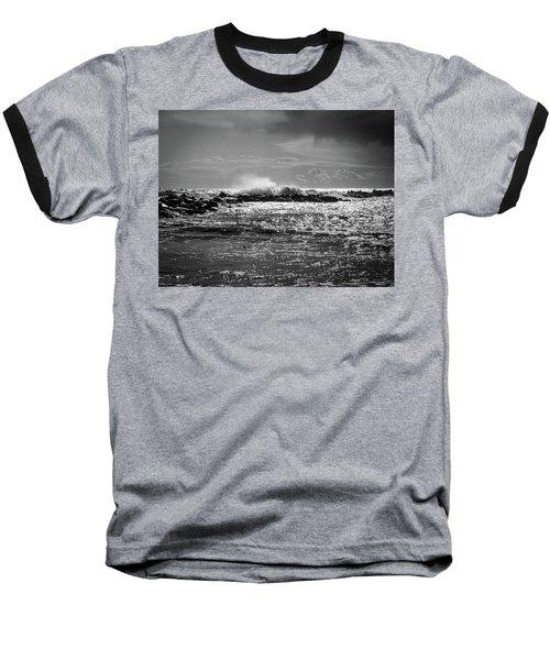 Sea Storm Baseball T-Shirt