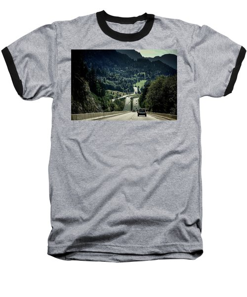 Sea To Sky Highway Baseball T-Shirt