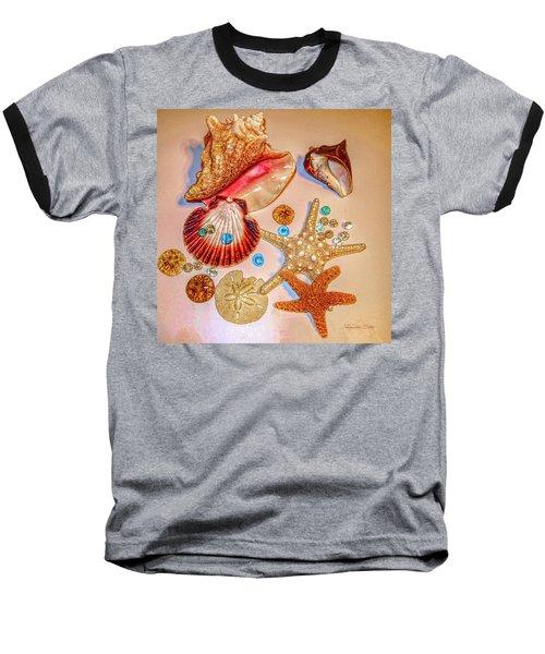 Sea Treasures Baseball T-Shirt
