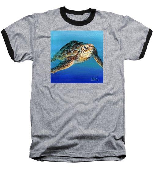 Sea Turtle 1 Of 3 Baseball T-Shirt