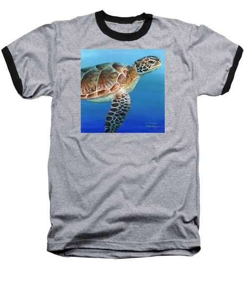 Sea Turtle 2 Of 3 Baseball T-Shirt