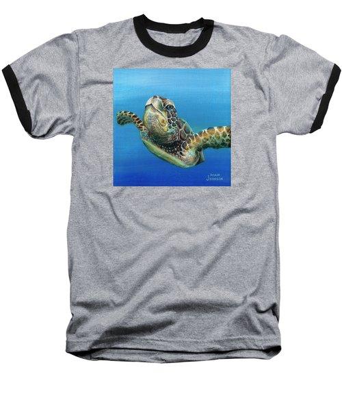 Sea Turtle 3 Of 3 Baseball T-Shirt