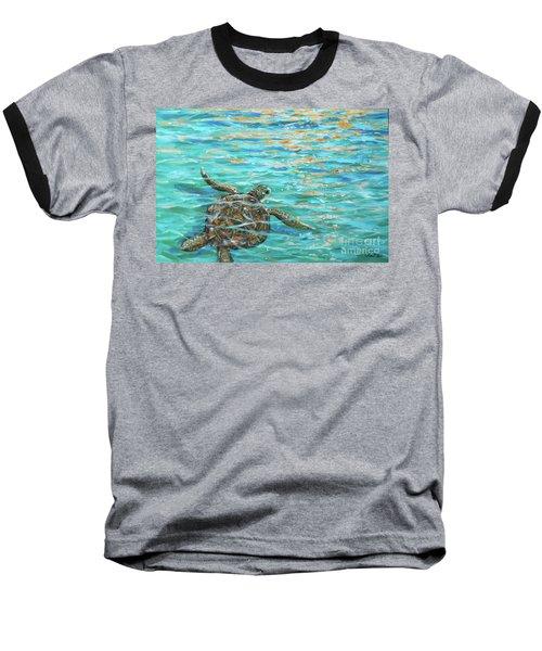 Sea Turtle Dream Baseball T-Shirt