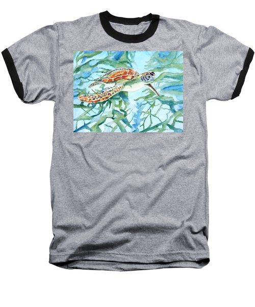 Sea Turtle Series #1 Baseball T-Shirt