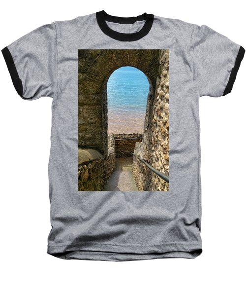 Baseball T-Shirt featuring the photograph Sea View Arch by Scott Carruthers