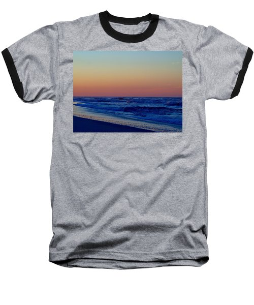 Baseball T-Shirt featuring the photograph Sea View by  Newwwman