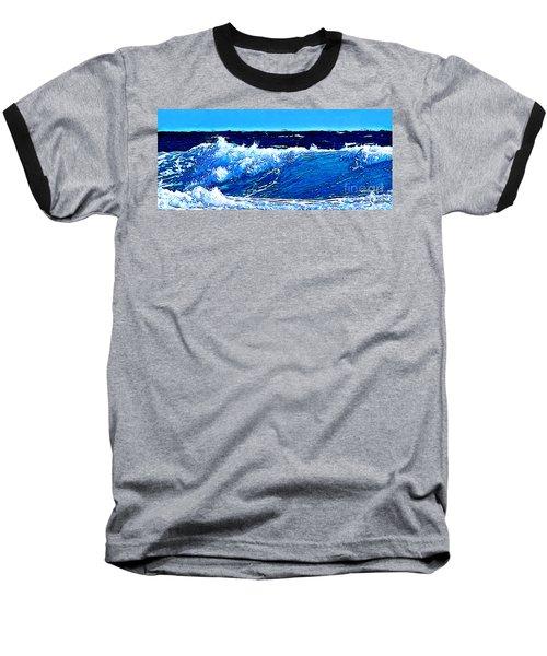 Sea Baseball T-Shirt by Zedi
