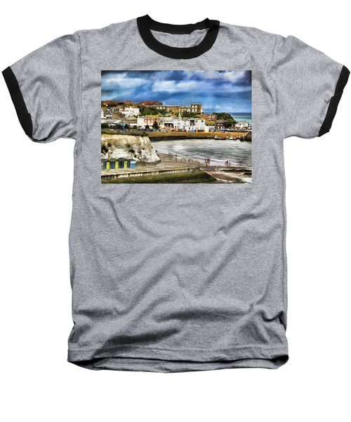 Seafront Broadstairs Kent Baseball T-Shirt