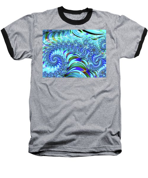 Seaglass Dragon Baseball T-Shirt