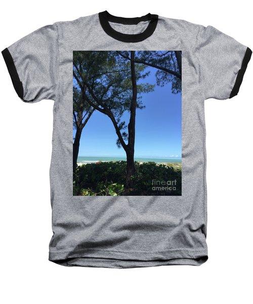 Seagrapes And Pines Baseball T-Shirt