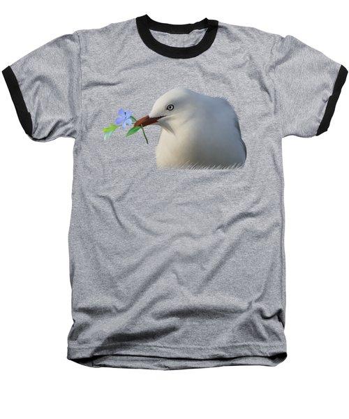 Seagull Baseball T-Shirt by Ivana Westin