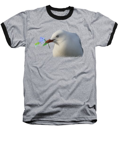 Baseball T-Shirt featuring the painting Seagull by Ivana Westin