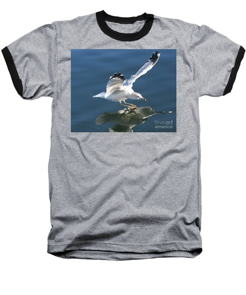 Seagull Reflection Baseball T-Shirt
