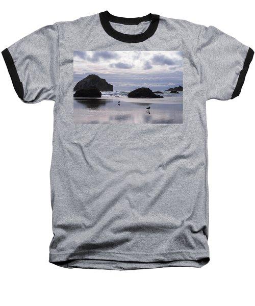 Seagull Reflections Baseball T-Shirt