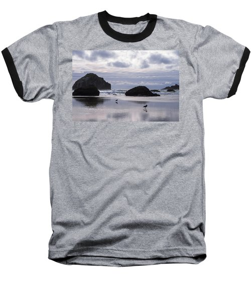 Seagull Reflections Baseball T-Shirt