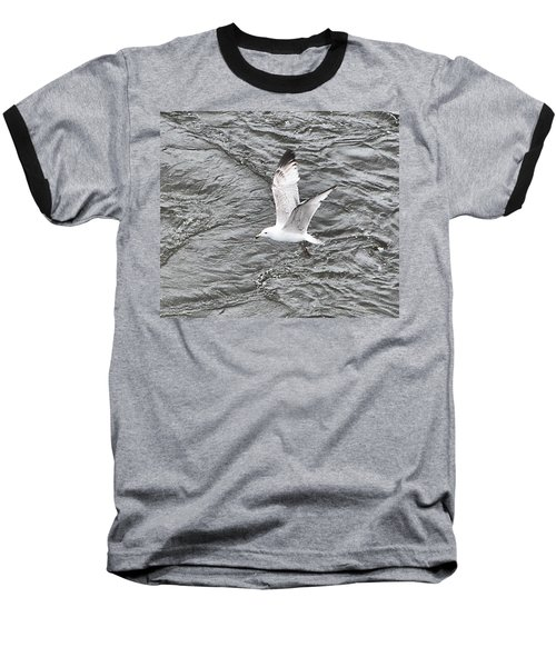 Seagull Sea Baseball T-Shirt