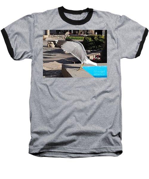 Seagull Showing Off Baseball T-Shirt
