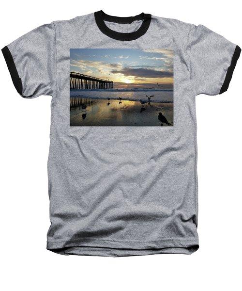 Seagulls And Salty Air Baseball T-Shirt