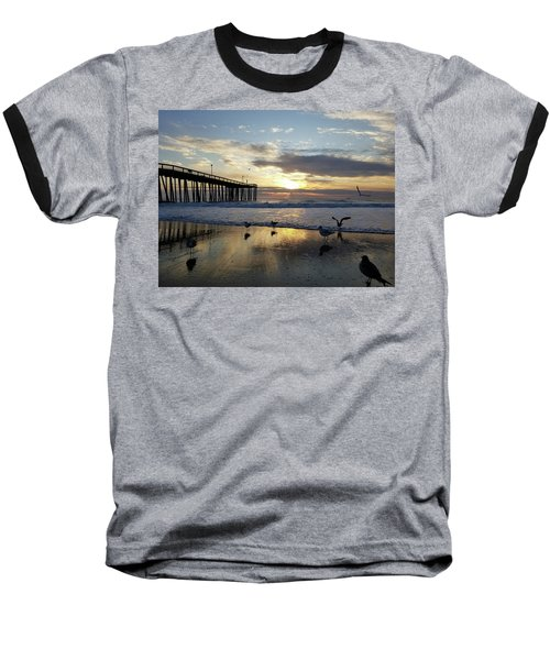 Seagulls And Salty Air Baseball T-Shirt