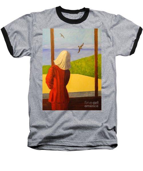 Seagulls - Bookcover Baseball T-Shirt