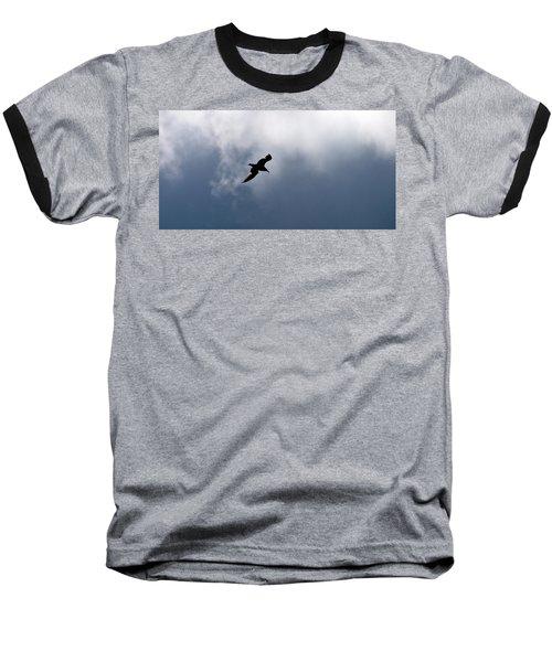 Baseball T-Shirt featuring the photograph Seagull's Sky 1 by Jouko Lehto