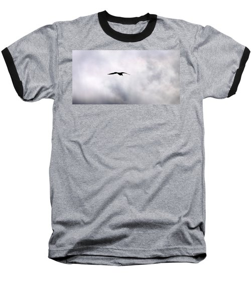Baseball T-Shirt featuring the photograph Seagull's Sky 2 by Jouko Lehto